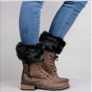 Faux Fur Boot Toppers